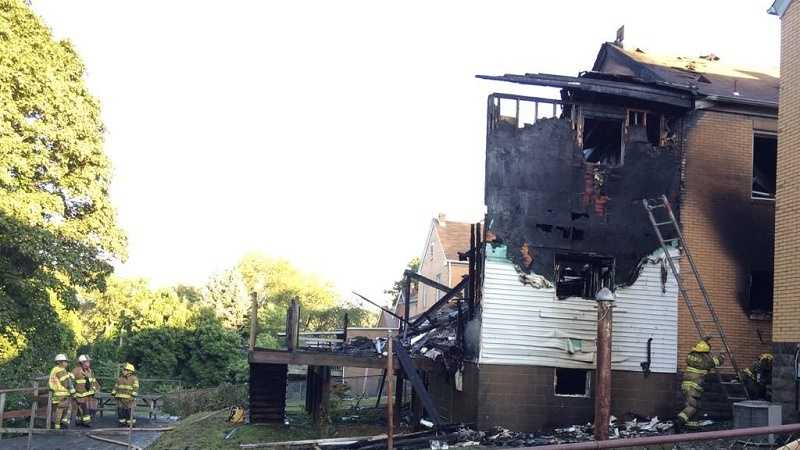 Fire tears through Mt. Oliver couple's home