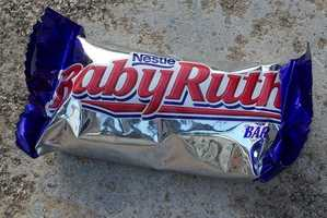Baby Ruth (1921) -- This chocolate-peanut-caramel confection originally cost just five cents. Today, The king-size version goes for 99 cents.