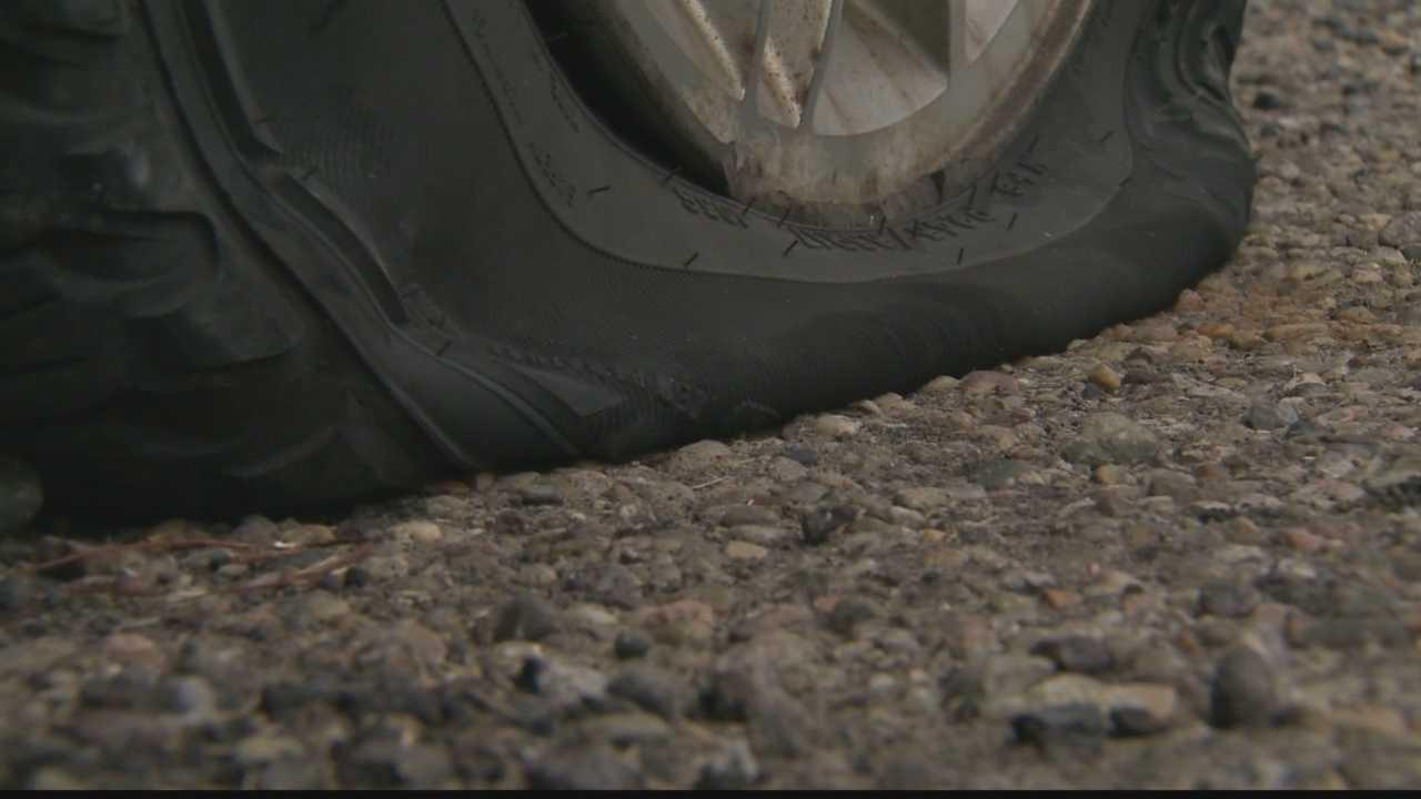 img-tire slashed in McKees Rocks