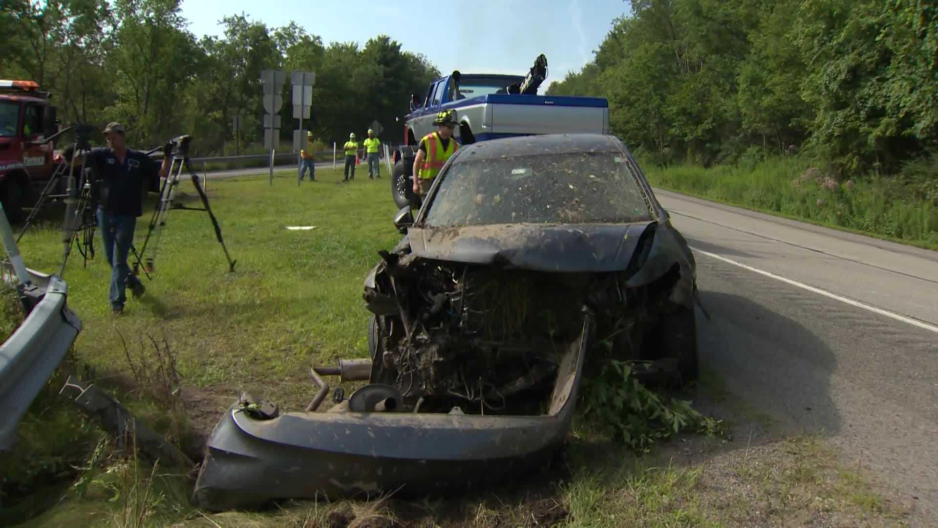 car over hillside 01