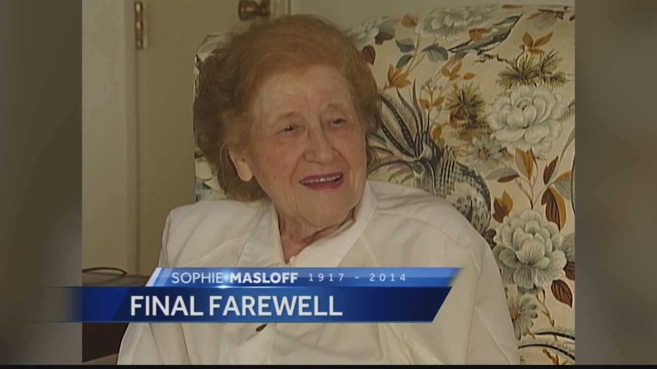 Final Farwell: Public funeral held for former Pittsburgh Mayor Sophie Masloff