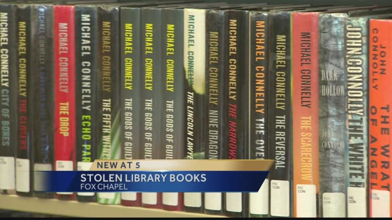 Stolen Library Books