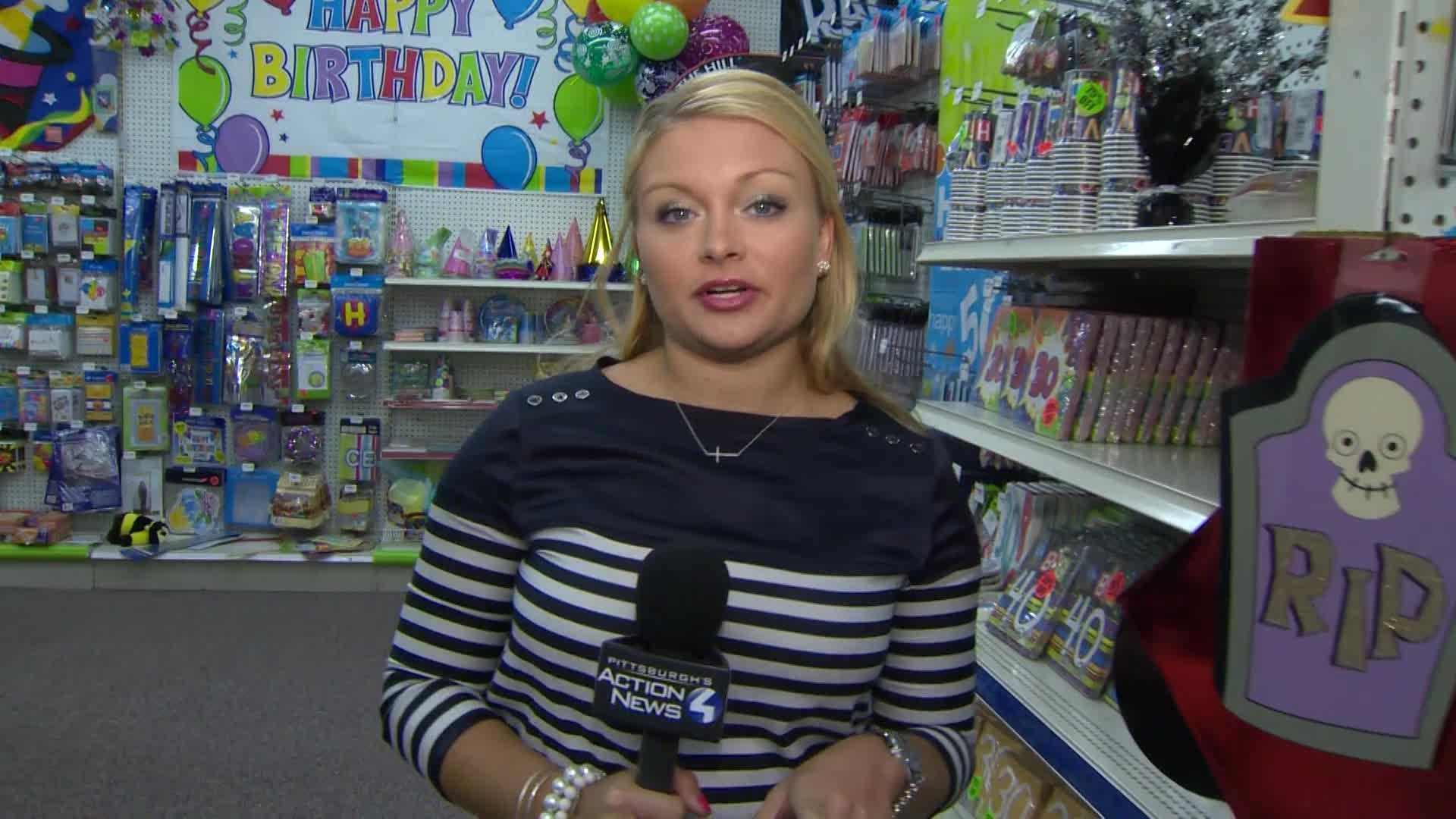 Ashlie at Fun Party Stores