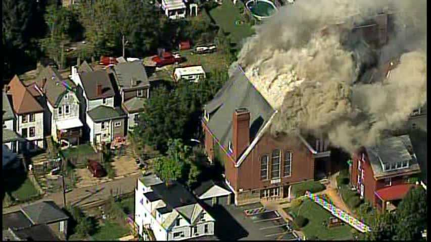 Allentown church fire