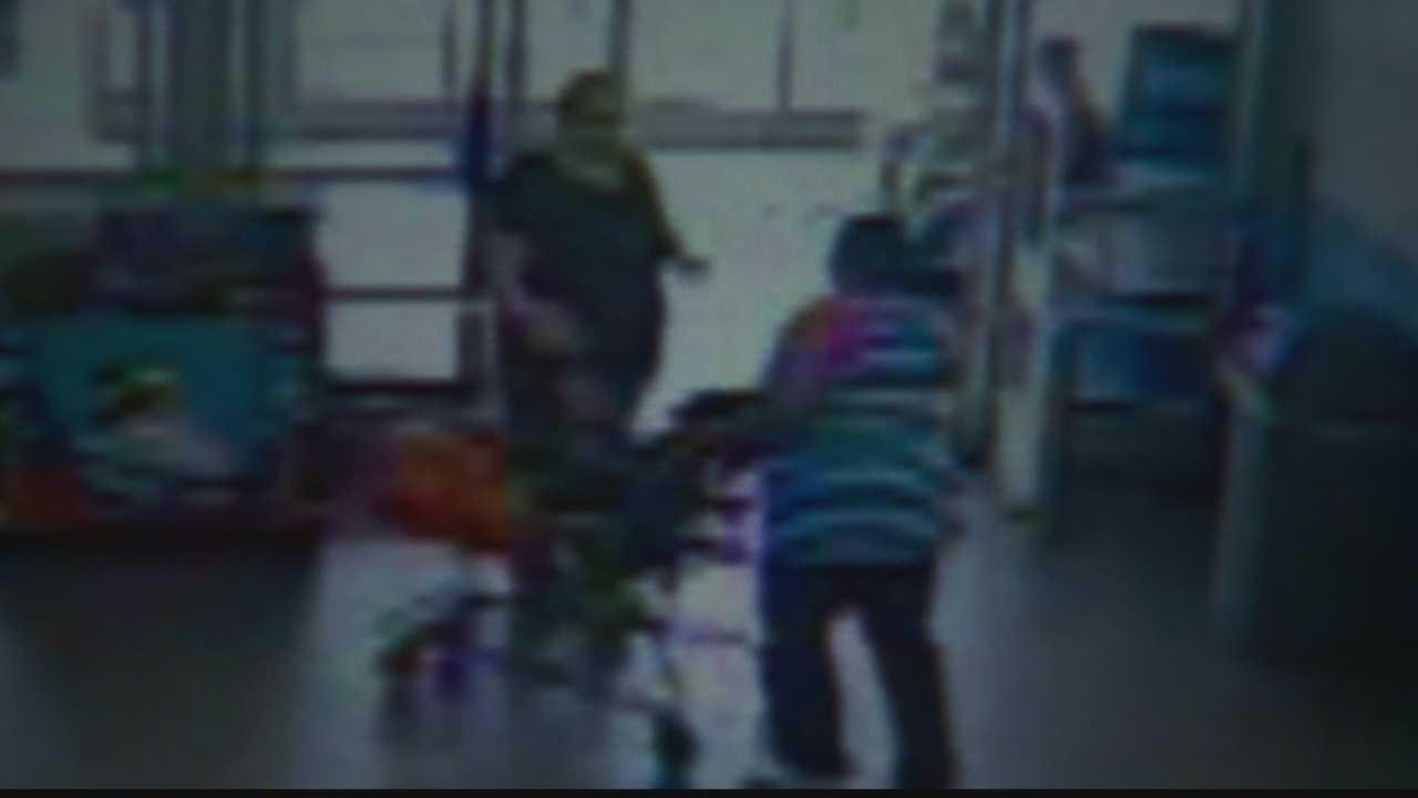 Walmart surveillance image