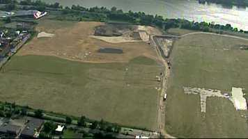 The parcel of more than 170 acres has been empty for years.