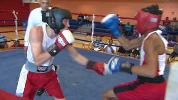 """A new boxing center at the Thelma Lovette YMCA in the Hill District has state-of-the-art amenities, with a valuable gift from Hollywood in the center of it all: A ring that was used during filming of the Jake Gyllenhaal movie """"Southpaw"""" in Pittsburgh."""