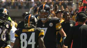 Ben and Antonio after the Touchdown
