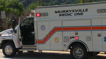 An ambulance from Murrysville Medic One.