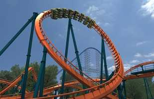 The Rougarou will reach speeds of 60 mph and will include the world's only vertical loop on a floorless coaster.