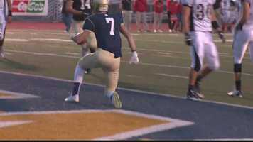 Franklin Regional 34, Indiana 20