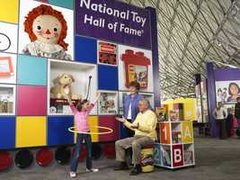 The National Toy Hall of Fame has 12 finalists this year. Only two will be chosen for induction. Click through this slideshow to see which toys are nominated. (Descriptions are provided by the hall of fame at The Strong museum in Rochester, N.Y.)