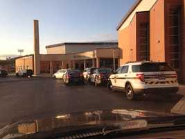 Photos submitted by parents, & viewers of the Bethel Park High School lockdown on Monday morning.