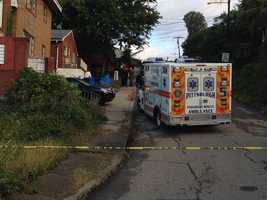 A 17-year-old Hill District boy was fatally shot as he was leaving his home on Morgan Street to go to school.