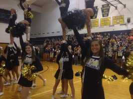 Norwin High School cheerleaders