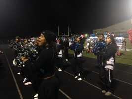 Woodland Hills cheerleaders