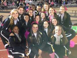 Gateway cheerleaders