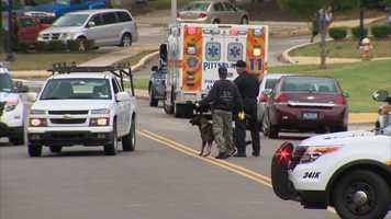 The shooting happened on Rosselle Drive near Johnston Avenue in Glen Hazel.