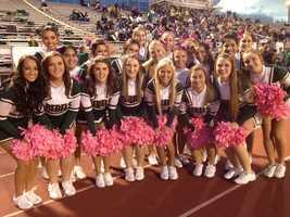 Seton-La Salle High School cheerleaders