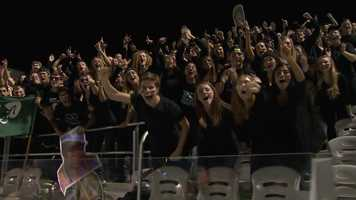 Pine-Richland High School football fans at Highmark Stadium.