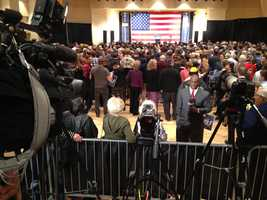 Pittsburgh's Action News 4 is on-site at Former President Bill Clinton's event for the Tom Wolf campaign in Pittsburgh. We will update these slideshow as the event unfolds this afternoon.  You can share your photos via U-Local or @WTAE via Twitter.