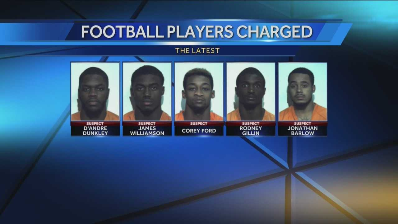 Cal U Players Arrested