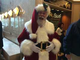 Santa Claus will pay a visit to meet the children at Light Up Night.