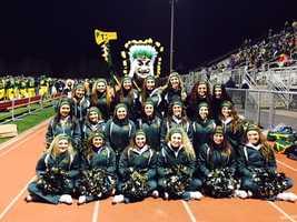 Penn-Trafford High School cheerleaders