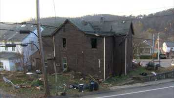 The victim was identified as Arthur Periz, 70. Firefighters found the body while searching the home in Versailles.