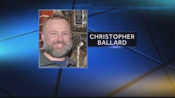 The victim was identified as Christopher Ballard, 44, of Morgantown, W.Va.