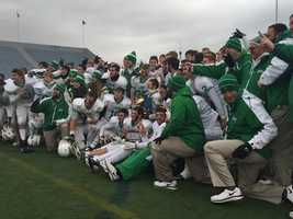 South Fayette High School becomes the first school in PIAA Class AA to repeat as state football champions.