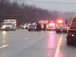 Police Officer Richard Champion died in a two-car crash on Route 51 in Perry Township, Fayette County.