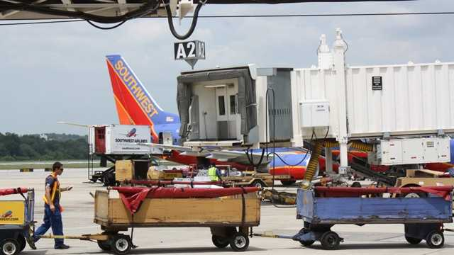 Southwest Airlines, luggage, bags