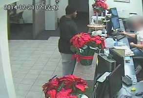 Surveillance image from first Niagara Bank in Shadyside