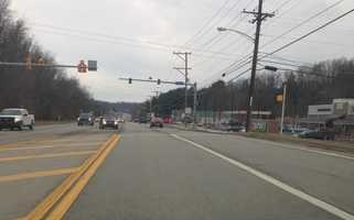 Route 19 in Peters Township