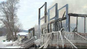 Firefighters battled a blaze for several hours at an historic mill that was a popular tourist destination in Venango County.