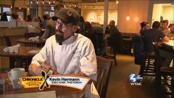 Kevin Hermann, Exec Chef of The Porch