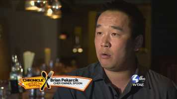 Brian Pekarick, Chef/Owner of Spoon -- @spoonpgh on Twitter