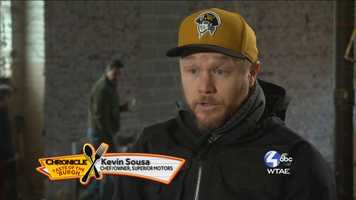 Kevin Sousa, Chef/Owner of Superior Motors -- @sousapgh on Twitter
