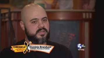 Dominic Branduzzi, Owner of Piccolo Forino