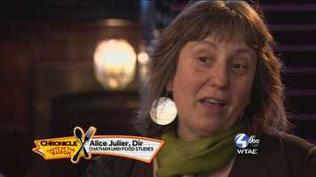 Alice Julier of Chatham University Food Studies