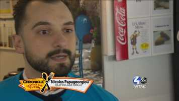Nicholas Papageorgiou of the Old Village Grille