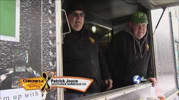Patrick Joyce and his brother from Southside Barbecue Company -- @Southsidebbqco on Twitter