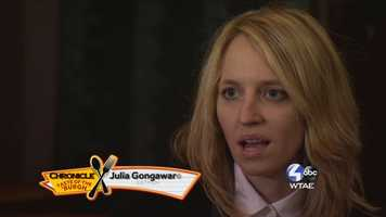 Julia Gongawar of EatPGH -- @eatPGH on Twitter