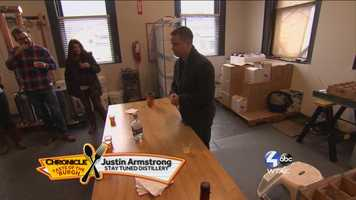 Justin Armstrong of Stay Tuned Distillery