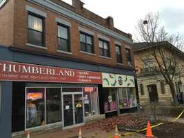 Northumberland Street in Squirrel Hill