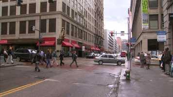 Smithfield Street at Fifth Avenue