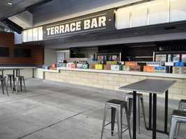 The Terrace Bar is the first and only full serivice bar on the Upper Concourse - located behind Section 316