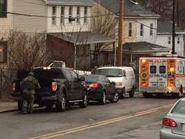 2 SWAT groups here now. Ambulance back on scene. Still keeping us back.
