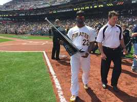 Andrew McCutchen won the 2014 Silver Slugger Award.
